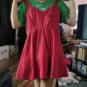 Red Forever 21 Size S cocktail dress
